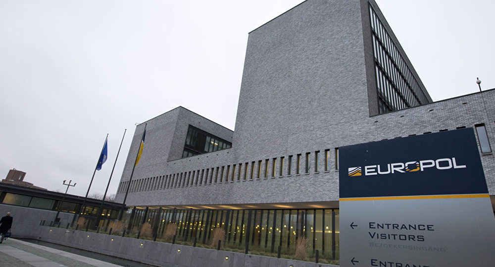 Exterior view of the Europol headquarters where participants gathered to attend the anti terror conference in The Hague, Netherlands, Monday, Jan. 11, 2016