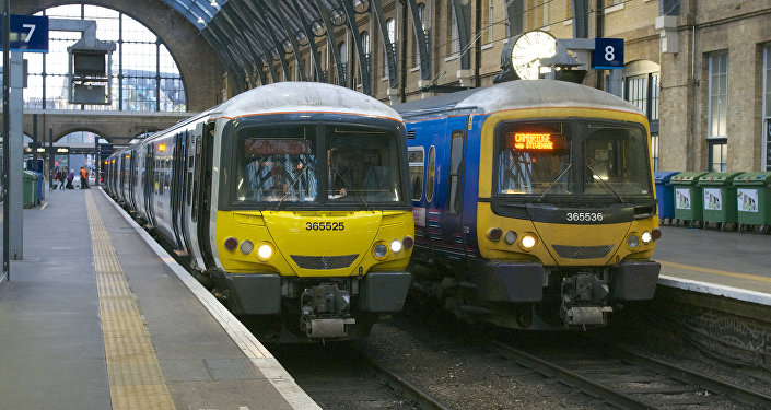GTR trains at London King's Cross
