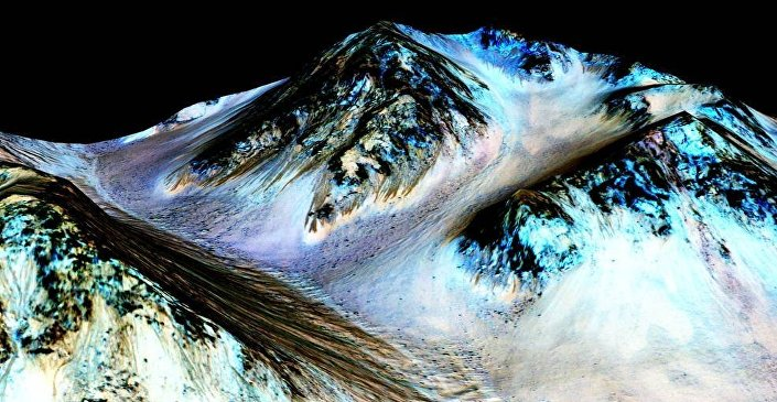 Water Flows On Mars