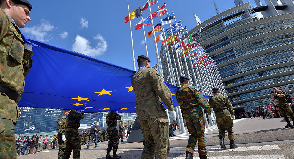 German Politician We Dont Need Eu Army We Need A European Home