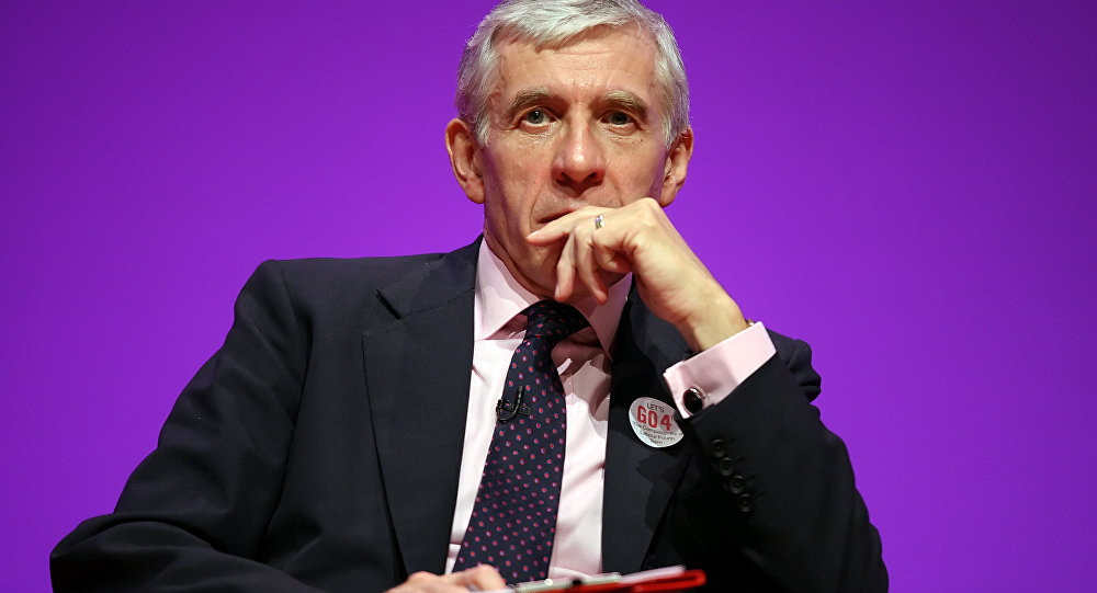 Former Labor MP Jack Straw