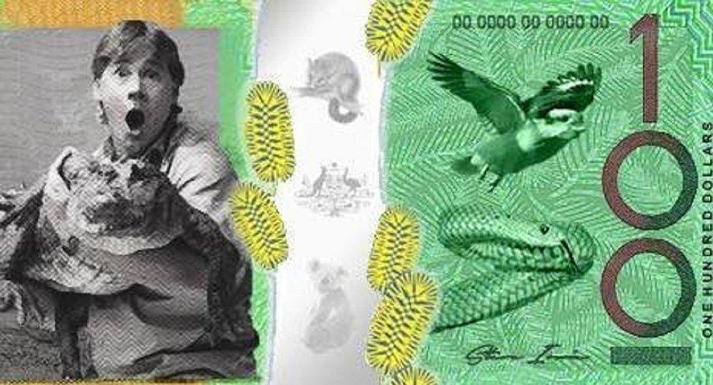 Aussies Want to Put Crocodile Hunter Steve Irwin on Money