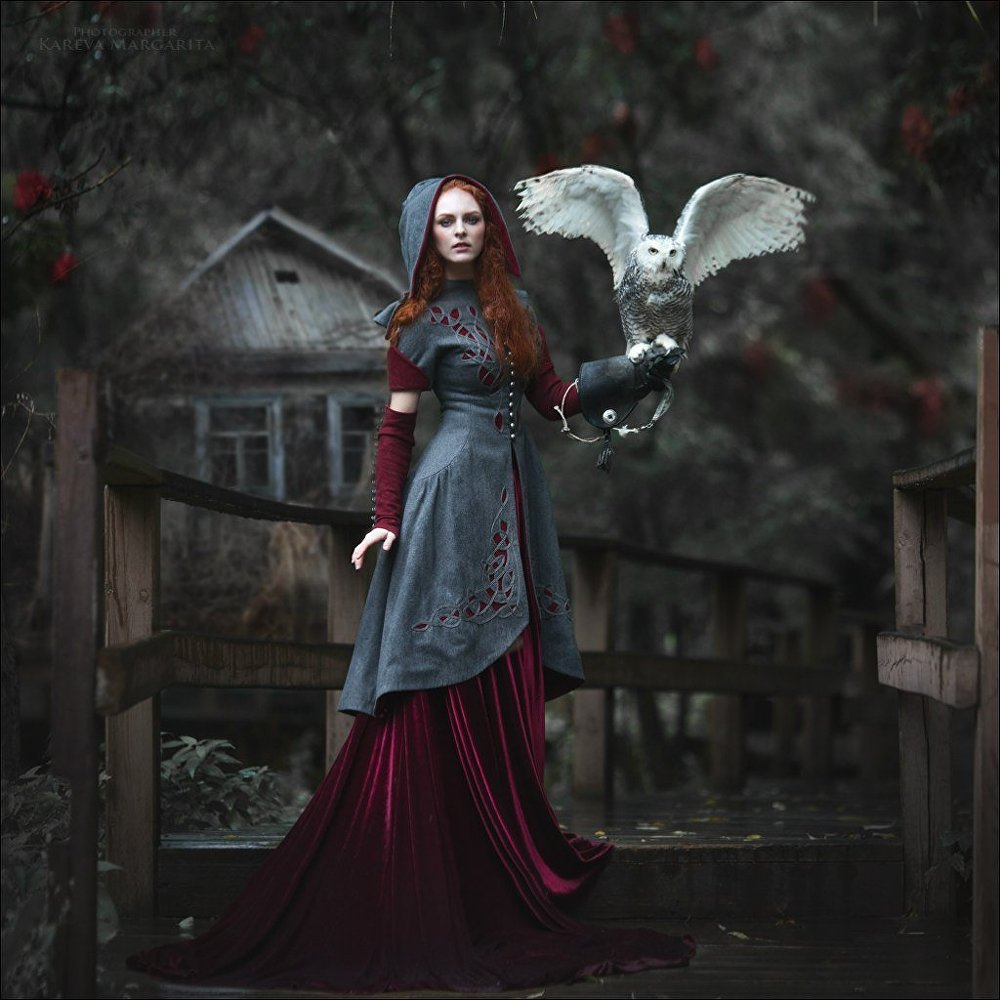 Russian Photographer Brings Fairy Tales to Life