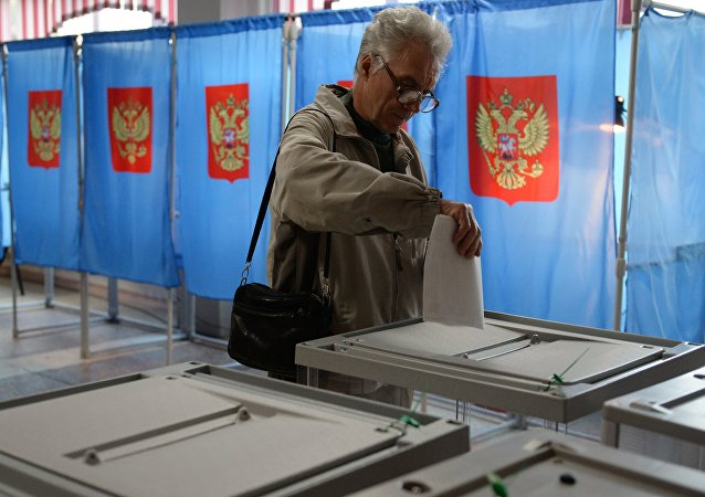 Polling stations in central Russia have opened for voting in elections to the country's lower house of the parliament