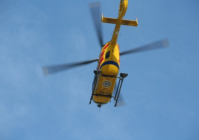 Emergency helicopter. (File)