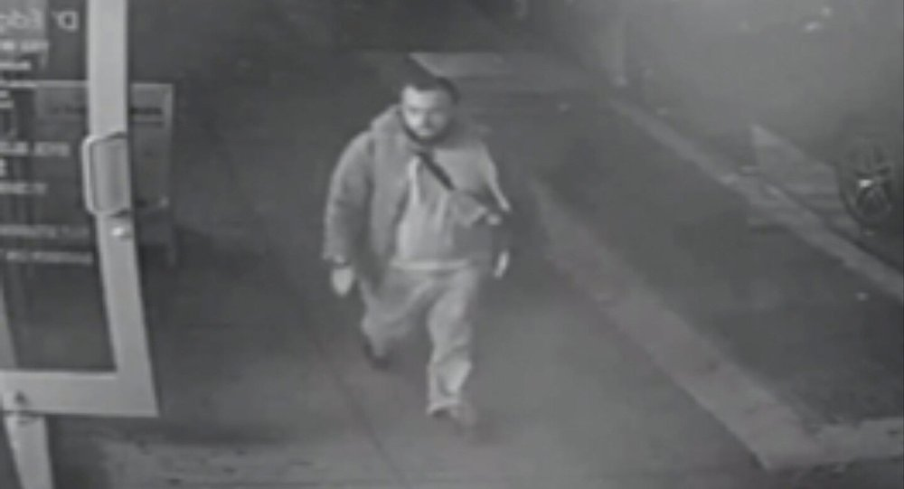 Ahmad Khan Rahami, who is wanted for questioning in connection with an explosion in New York City, is seen in this image taken from video, released by the New Jersey State Police