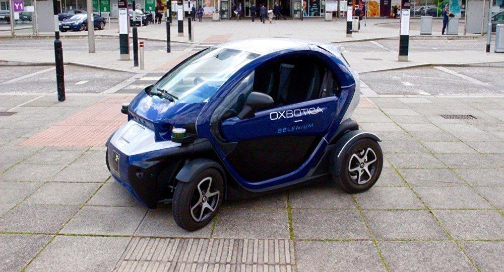 Oxbotica - Selenium Autonomous driving in Greenwich