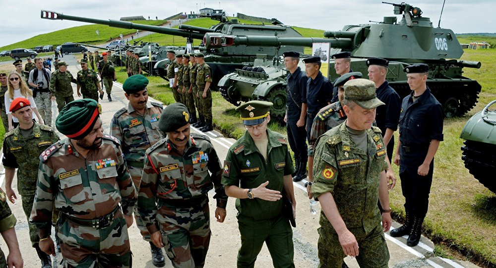 Image result for Indra-2016 Russian-Indian joint military photos