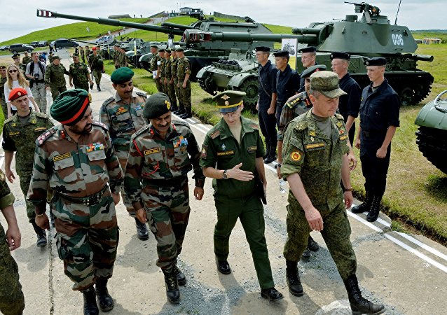 Indian military delegation visits 5th combined arms army to prepare joint Russian-Indian Indra-2016 ground muscle exercises