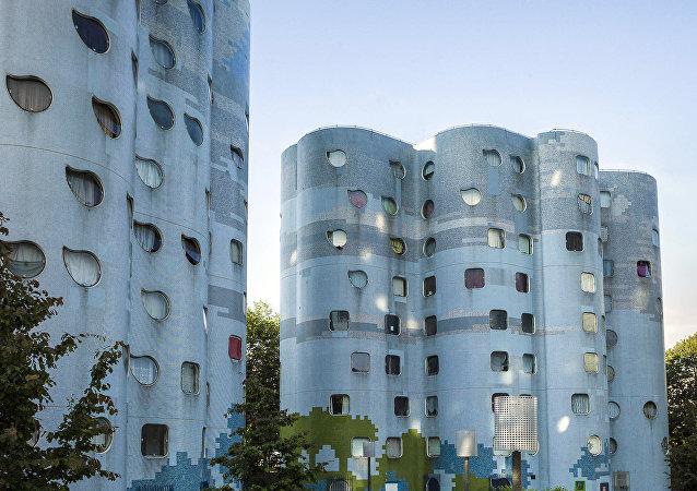 Habitation à Loyer Modéré (HLM), rent-controlled housing, is a form of private or public housing in France