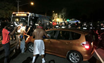 Charlotte Protesters Face Off With Police Over Keith Lamont Scott Shooting