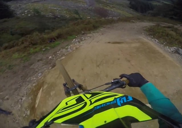 Bernard Kerr's Crazy Winning MTB Run from Hardline 2016: GoPro View