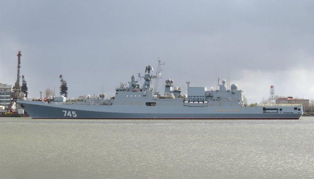 The Admiral Grigorovich frigate, designed for the Russian Black Sea Fleet