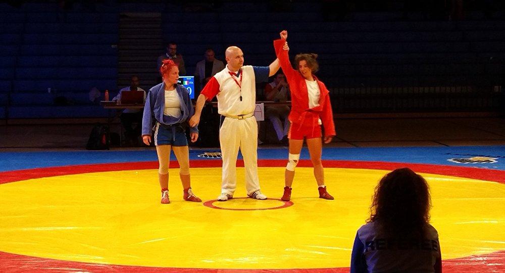 Sambo Tournament in Edinburg