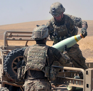 Coalition Forces Load White Phosphorus Munitions for Battle in Iraq Against Daesh