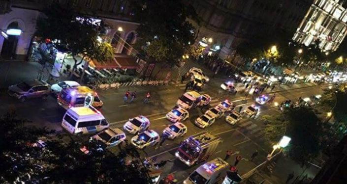 Budapest Blast Scene
