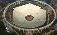 China's largest single-aperture spherical telescope FAST