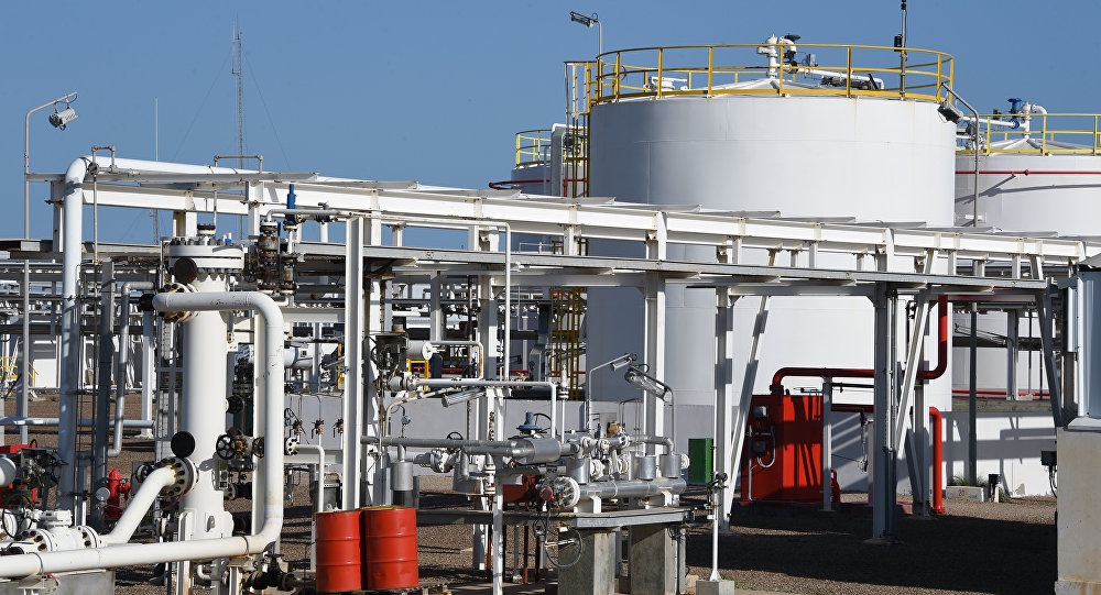 Facilities of the Chergui gas field concession of the UK based oil company Petrofac on the island of Kerkennah. (File)