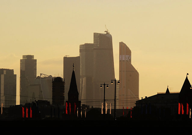 Moscow City International Business Center