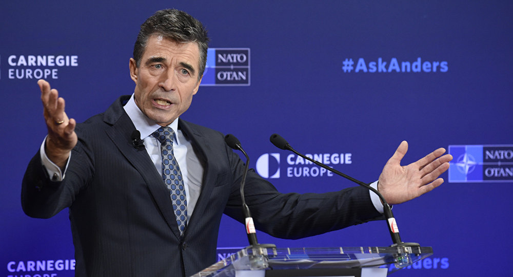 NATO General Secretary Anders Fogh Rasmussen (File)
