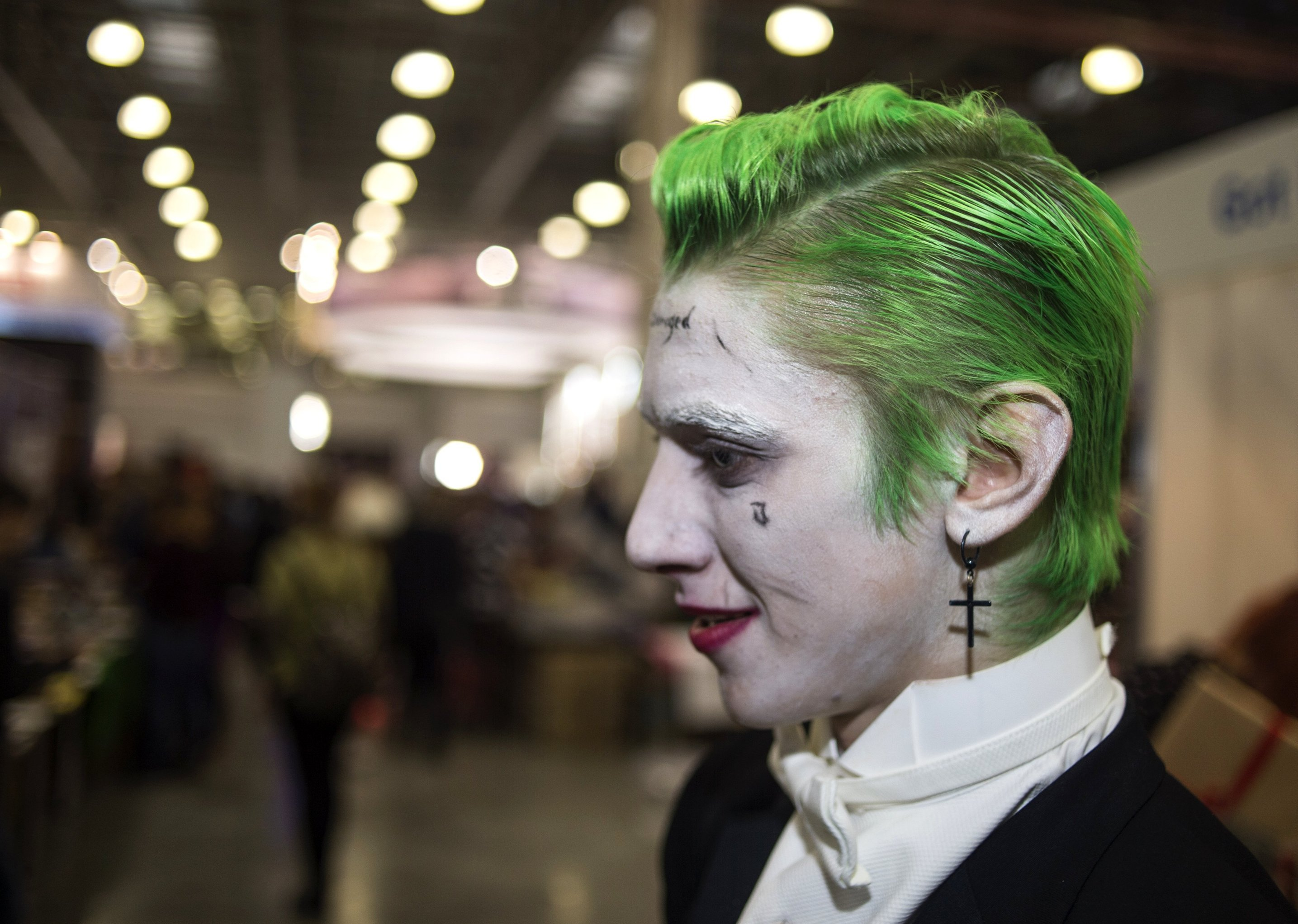 Ilya as the Joker, a character from the DC Comics universe