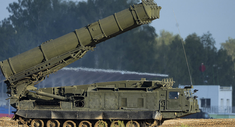 S-300VM Antei-2500 air defense system. (File)