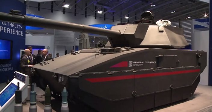 General Dynamics Griffin Technology Demonstrator (Tank)