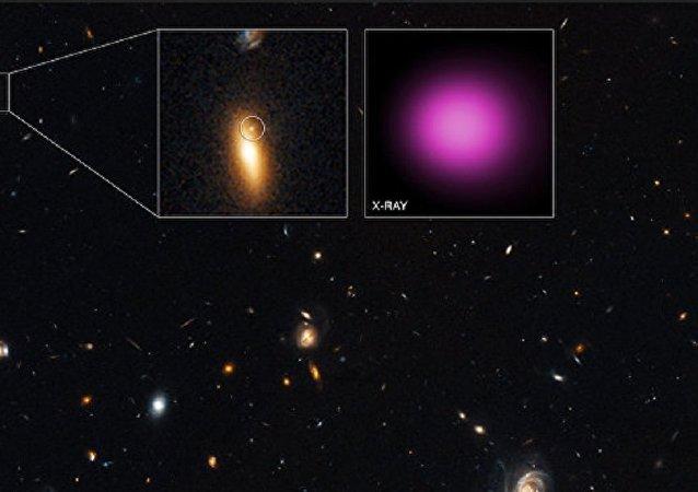 Black hole XJ1417+52