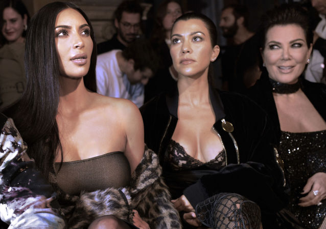 (From L) Kim Kardashian, Kourtney Kardashian and Kris Jenner