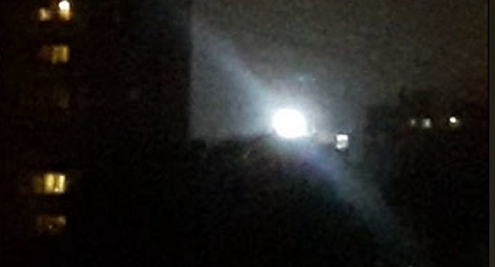WATCH: Mysterious Glowing UFO Spotted Over Moscow High-Rise