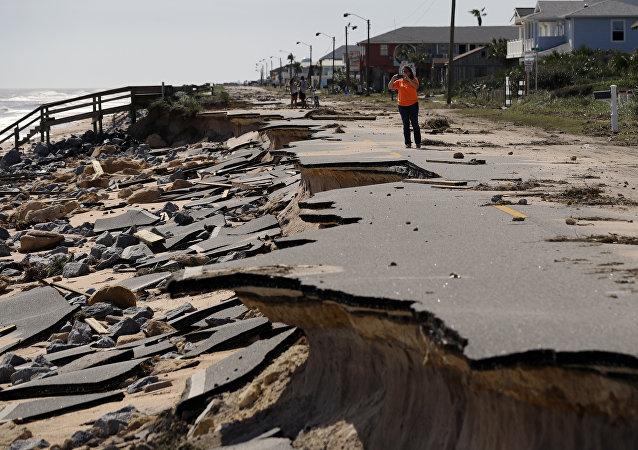The Raging Fury of Hurricane Matthew