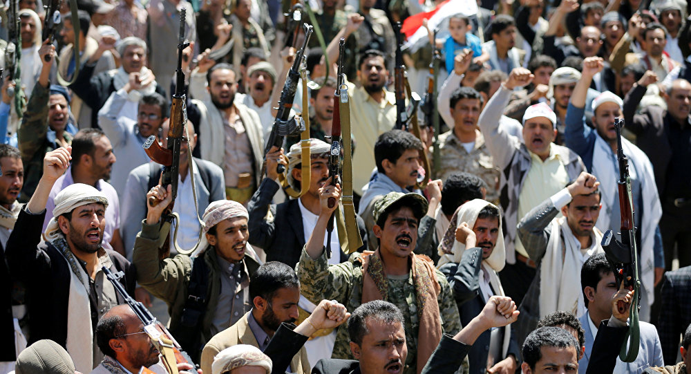 Iran's Shamkhani denounces Washington's role in Saudi airstrike on Yemeni mourners
