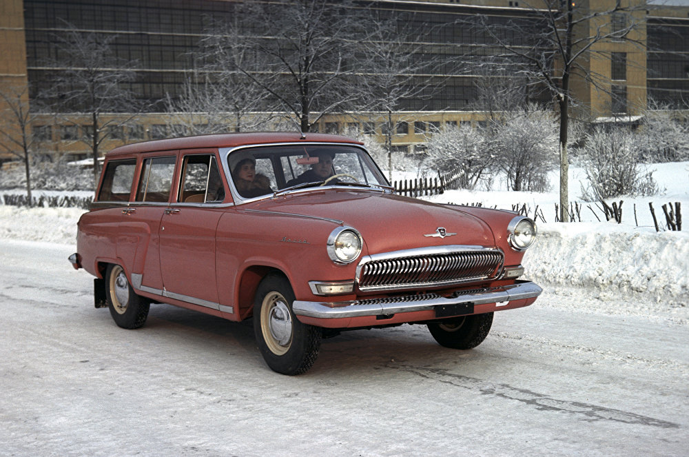 GAZ-22 Volga, a middle class station wagon produced on the basis of the GAZ-21.