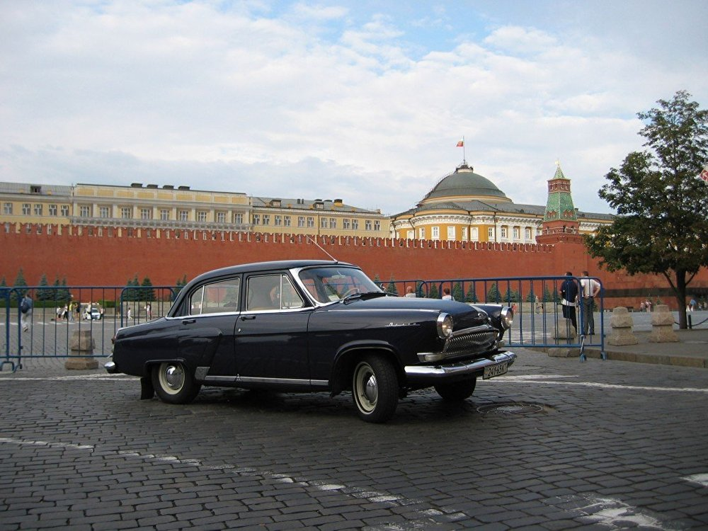 GAZ -23 was also produced on the basis of GAZ-21 and could accelerate up to 170 km/h or more. In official classified documents it was called a high-speed car and an escort vehicle, because it was a more powerful version specially designed for the KGB and other Soviet secret services.