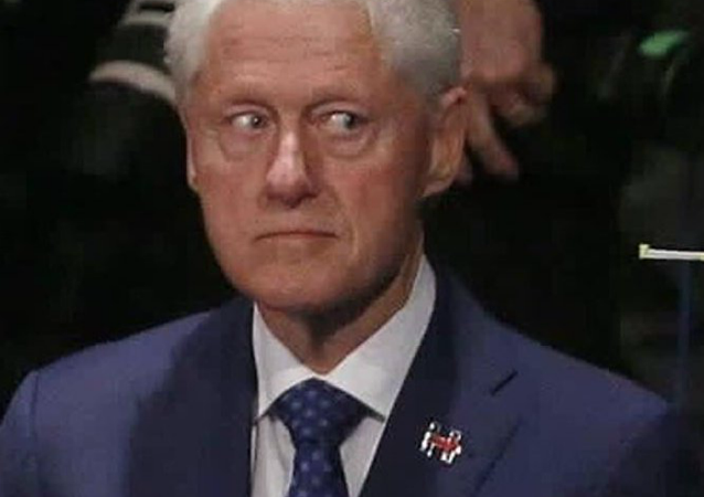 Bill Clinton During the October 9 Debate between Hillary and Trump