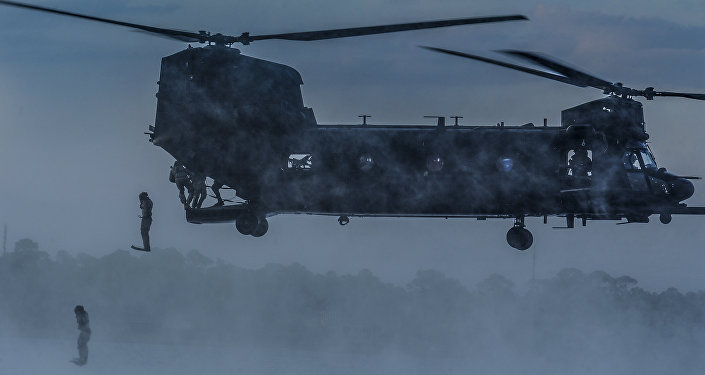 MH-47 Chinook Helicopter (file)