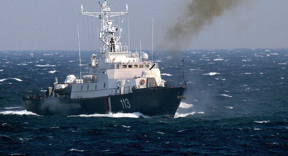 Russian border patrol vessel. File photo