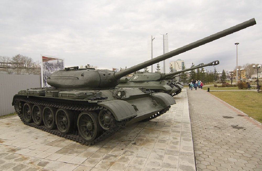 Tank T-54-1 in Verkhnyaya Pyshma war museum