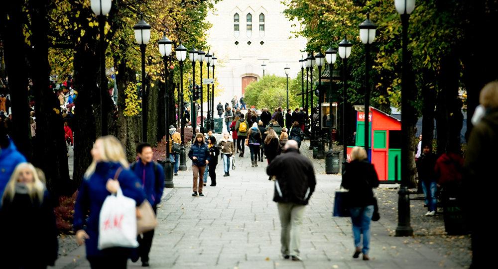 Central Oslo street scenes