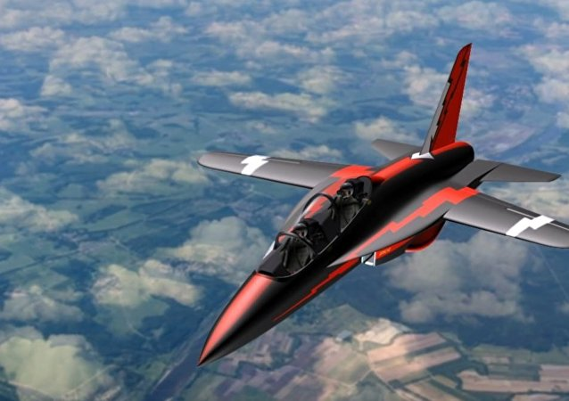 Russia to Test Unique SR-10 Forward-Swept Wing Jet Trainer Within Three Years