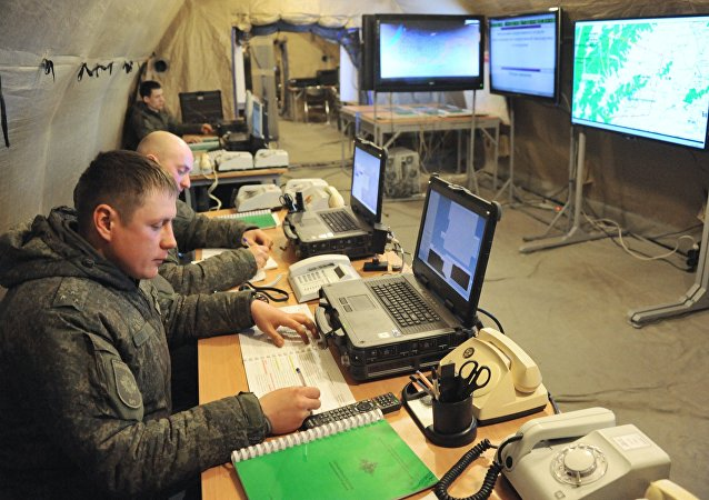 Military drill in Zabaikalsky Territory