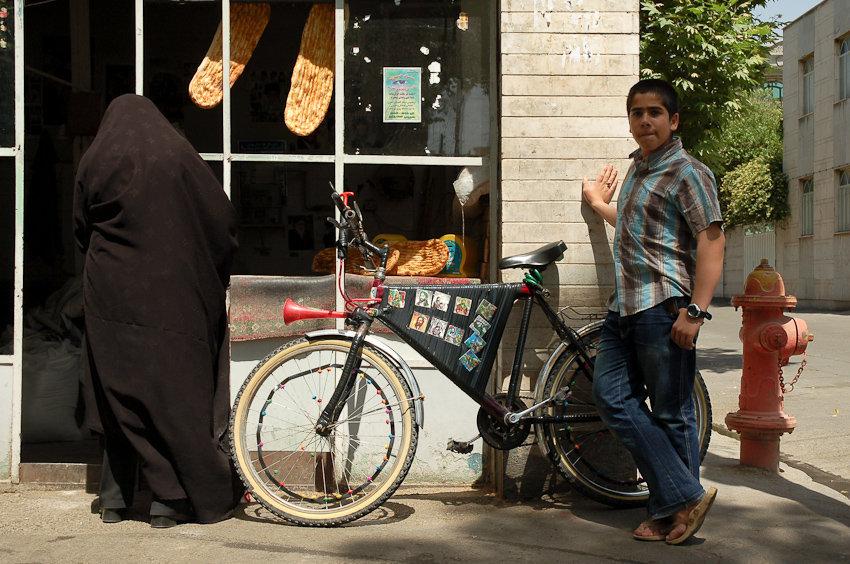 Outside Barbari Bakery  Shahreh Ray-Tehran