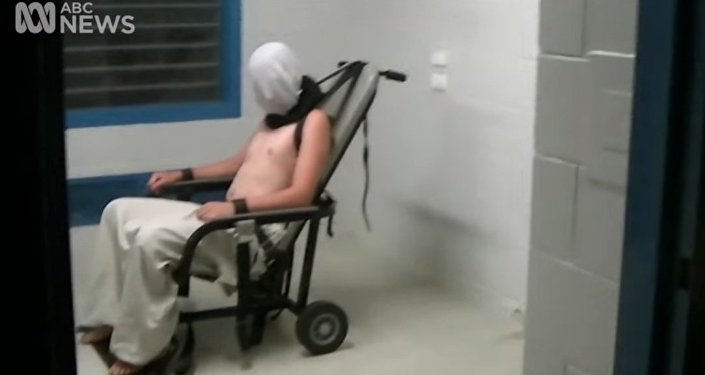 Shocking vision of Child Torture in Youth Detention