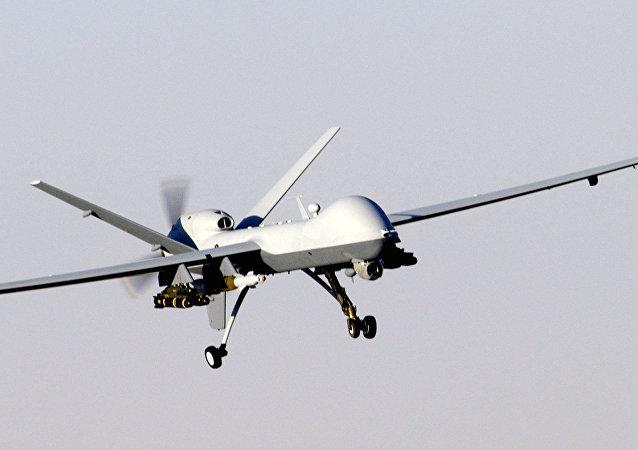 An MQ-9 Reaper, a hunter-killer surveillance UAV