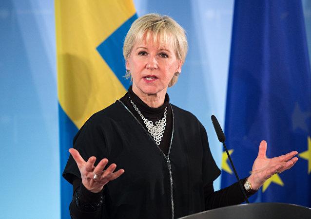 Foreign Minister of Sweden Margot Wallstrom (File)