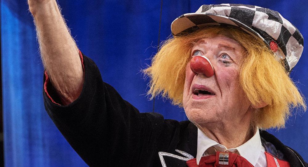 Russian clown Oleg Popov