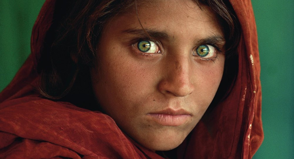 Steve McCurry (B. 1950). Afghan Girl