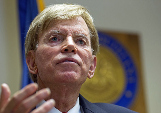 Former Ku Klux Klan leader David Duke (File)