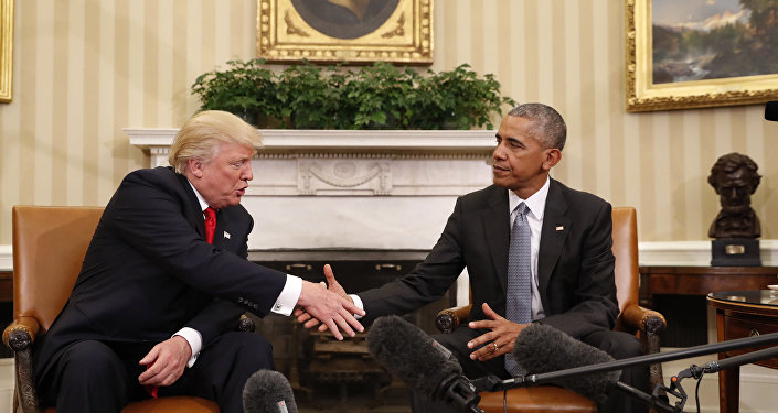 Obama and Trump Meet at White House