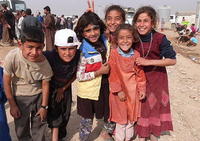 Children in Mosul